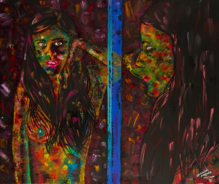 juliana en el espejo